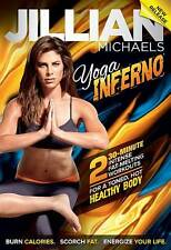 JILLIAN MICHAELS YOGA INFERNO EXERCISE DVD NEW SEALED WORKOUT FITNESS