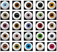 Wholesale Lots 10 Pair BJD Glass Eyes Outfit for BJD OOAK SD Volks Pullip Doll