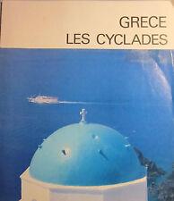 Grèce. Les Cyclades. 1984. Plaquette touristique.