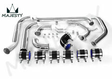 FRONT MOUNT INTERCOOLER PIPE KIT PIPING KIT FOR STARLET GLANZA EP91 EP82 BLACK