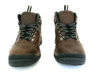 Timberland Womens Waterproof Leather Sz 6M White Ledge Mid Ankle Hiking Boots