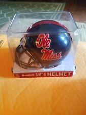 OLE MISS REBELS RIDDELL Mini Helmet NCAA. SEC