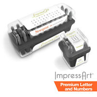 ImpressArt Premium Letter and Number Extra Strong Stamping Sets