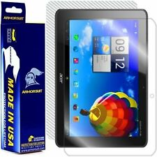 ArmorSuit MilitaryShield Acer Iconia Tab A510 Screen Protector + White Carbon