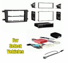 Car Stereo Radio Dash Install Trim Mount Face Kit Combo for select CX-9 w/Bose
