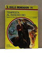 TEMPESTA AL RANCHO RIO - M.G.Eberhart [Libro, Il Giallo Mondadori n. 1176]