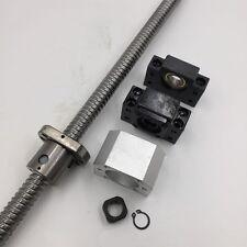 C7 Ballscrew L-1500mm Ball Screw&Ballnut&BK15/BF15 End Support End Machining Kit