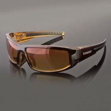 HD+ Sport Night Driving Sunglasses High Definition Vision Orange Wrap Glasses Ne