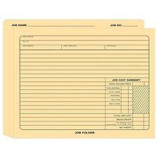 Expandable Job Folder 12x10