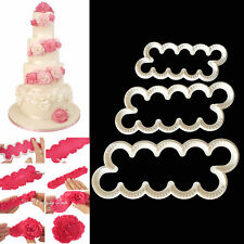 Cake Decorating Fondant Gum Paste Easy Carnation Ever Cutters Modelling MouldSN