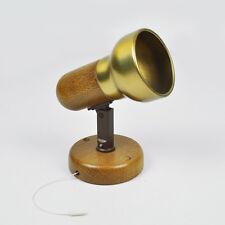 Honsel 28751 Strahler - Lampe - Wandleuchte - Holz - Metall - Vintage