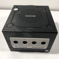 Nintendo GameCube DOL-001 Jet Black Console - For Parts or Repair