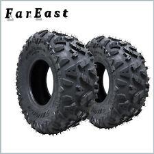 one set 2pcs 19x7-8 ATV Tires set 4 Wheels Quad UTV Tubeless Tire 4 PLY Go Kart