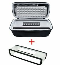 Storage Hard Case Bag + Soft Cover fit For Bose-Soundlink Mini I II 2 BT Speaker