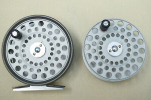 Hardy LRH Lightweight Fly Reel and Spare Spool Near Mint Condition