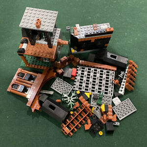 LEGO Kingdoms 7947 Prison Tower Rescue Incomplete As Seen