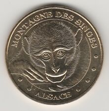 -- 2011 COIN MEDAILLE JETON MONNAIE DE PARIS -- 67 600 MONTAGNE DES SINGES
