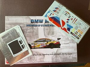 NUNU - 1/24 BMW M6 2018 MACAU GP GT3 WINNER & PHOT ETCH & EXTRA DECAL