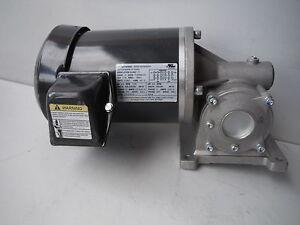 Dayton A.C. Gearmotor 4CVY6 FL RPM 45 Torque 743 In Lbs Ratio 39:1