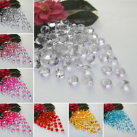Crystal Diamond Confetti Table Decor 4.5MM Sparkly Top Scatter Wedding Party UK