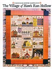 Village of Hawk Run Hollow Cross Stitch Chart Pack - Carriage House Samplings
