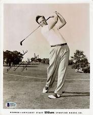 SKIP ALEXANDER 1951 RYDER CUP GOLF ORIGINAL WILSON PHOTO SIGNED AUTO BECKETT BAS