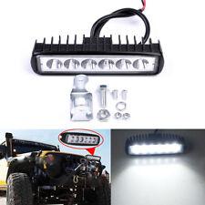 1Pc 6INCH 18W LED WORK LIGHT BAR SPOT BEAM OFFROAD DRIVING FOG 4WD LAMP UTE SUV