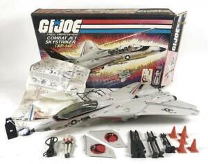 GI JOE COMBAT JET SKYSTRIKER XP-14F HASBRO 6010 w BOX & INSTRUCTIONS