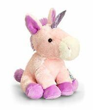NEW PIPPINS SPARKLES UNICORN Beanie 14cm soft toy/plush Keel Toys