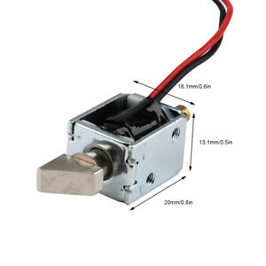 DC 12V 5.14W Slope Electromagnetic Lock Instantaneously Energized Switch Locks