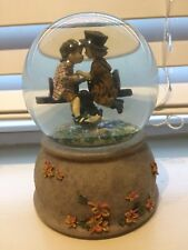 """Musical Snow Globe by Kim Anderson """"Forever Young� 6253 Song: You've Got A Frien"""