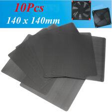 10pcs Computer PC Dustproof Cooler Fan Case Cover Dust Filter Mesh 140 x 140mm