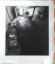 Pierre Collin : Gravure originale signée numérotée au crayon Maurepas
