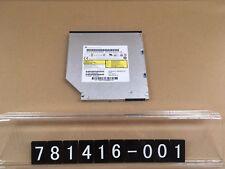 781416-001, HP 8X 9.5mm Slim SuperMulti DVDRW Writer ODD
