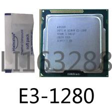 intel E3-1280 E3-1280 V2 E3-1280 V3 E3-1281 V3 CPU Processor