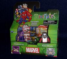 Marvel MiniMates Best of Series 3 CLASSIC HAWKEYE & ANT-MAN Figure 2 PK