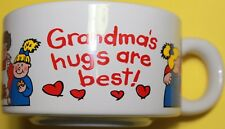Cornerstone Creations GRANDMA'S HUGS ARE BEST SOUP MUGS, BOWLS