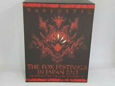 BABYMETAL 6 Blu-ray Box THE FOX FESTIVALS IN JAPAN 2017 THE ONE Limited Used