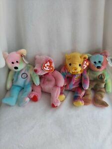 Ty Beanie Baby Bears Lot