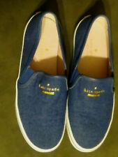 Kate Spade New York Sylus Denim Blue  Slip-On  Shoes Sneakers Womens  Size 6M
