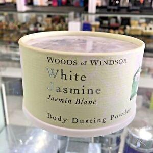 WOODS OF WINDSOR WHITE JASMIN DUSTING POWDER 3.5 OZ