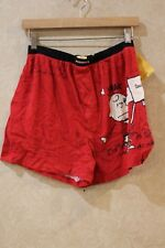 84716c19d1e9 Snoopy Charlie Brown Peanuts Boxers Small NWT Mens Love Letter Gift Bag __  R19B2