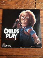 Horror Slasher Laserdisc Childs Play Chucky 1989 Tom Holland