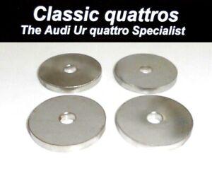 4 x NEW SUBFRAME MOUNT WASHERS AUDI UR QUATTRO TURBO COUPE 80-90-COUPE QUATTRO