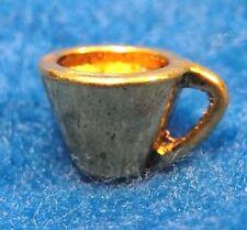 10Pcs. Tibetan Antique Gold Tea Or Coffee CUP Charms Pendants Ear Drops PR314