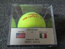 2015 US Open Roberta Vinci Vs. Vania King Round 1 Match Used Tennis Ball USTA