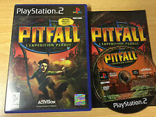 PS2 : pitfall l'expedition perdue