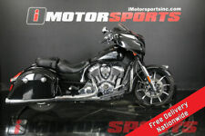 2018 Indian Motorcycle Chieftain Limited Abs Thunder Black