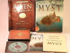 PC GAME MYST & RIVEN THE SEQUEL TO MYST PC CD-ROM BIG BOX GAME WINDOWS 95