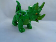 Green Plastic Comic Face Dinosaur Jointed T-Rex Figure